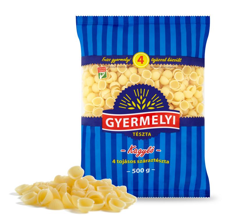 Paste scoici cu 4 ouă Gyermelyi
