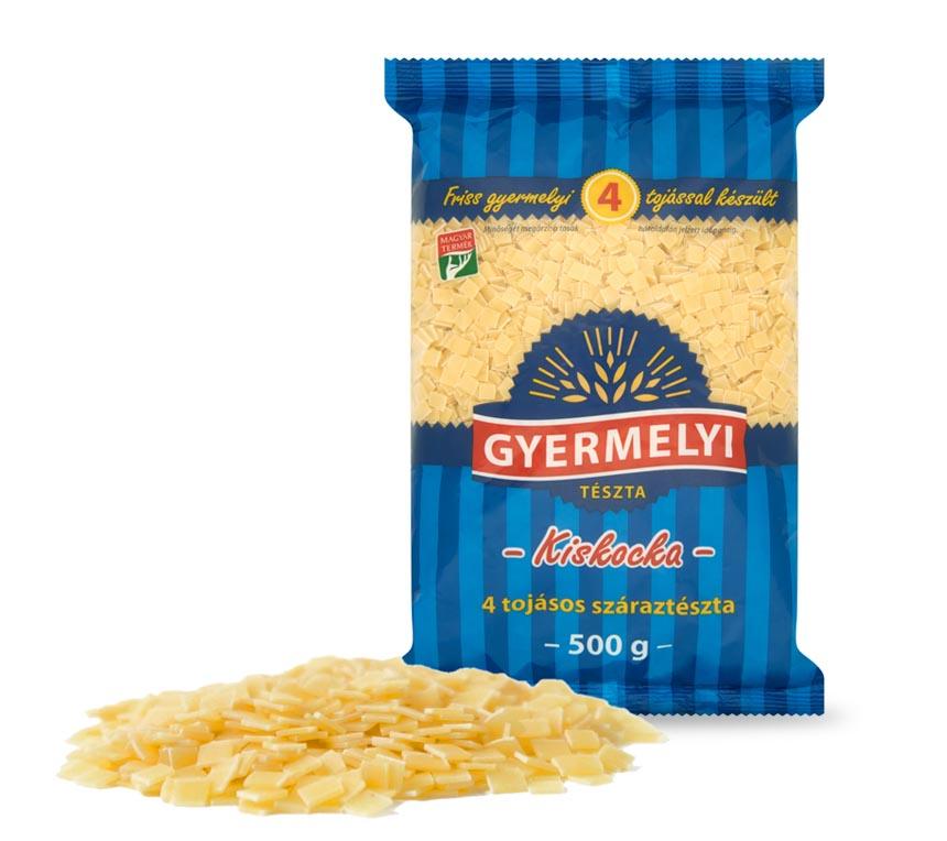 Pastele pătrat mic cu 4 ouă Gyermelyi