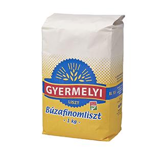 Făină albă de grâu Gyermelyi BL55 1 kg