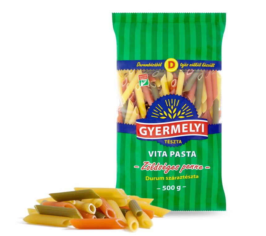 Penne tricolore Vita Pasta Gyermelyi